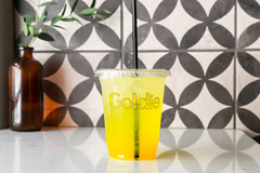 Turmeric-Lime Soda